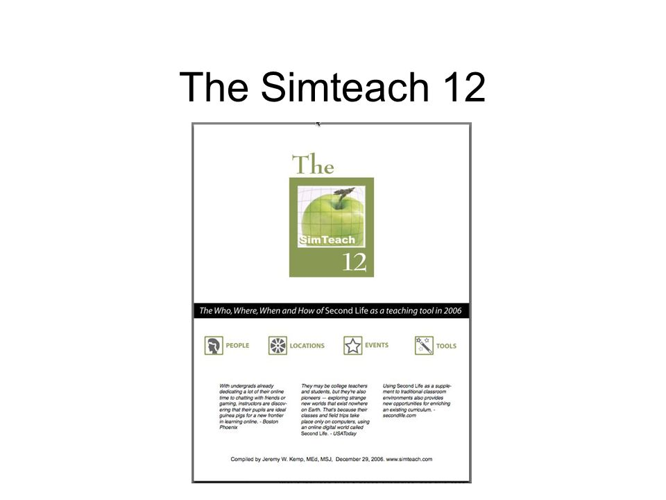 The Simteach 12