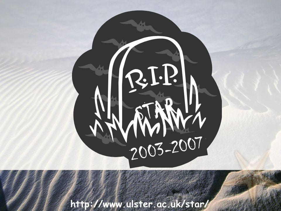 http://www.ulster.ac.uk/star/ STAR 2003-2007