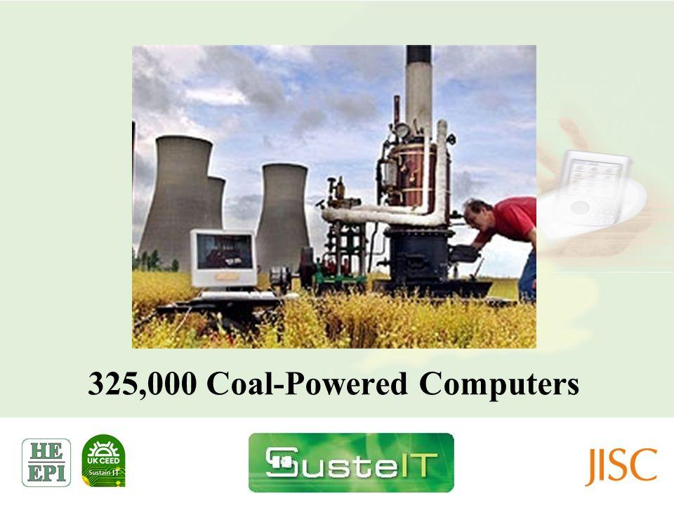 325,000 Coal-Powered Computers