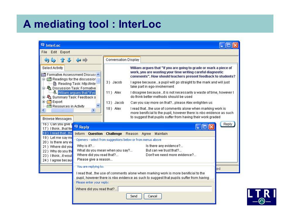 A mediating tool : InterLoc