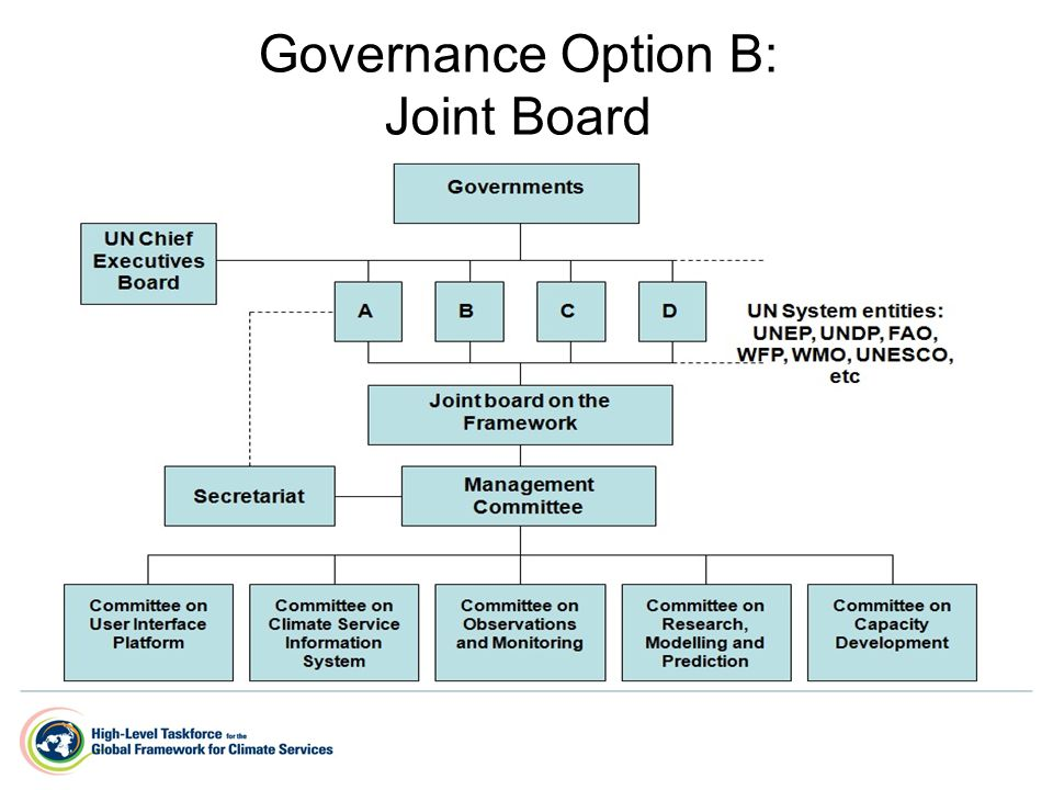 Governance Option B: Joint Board
