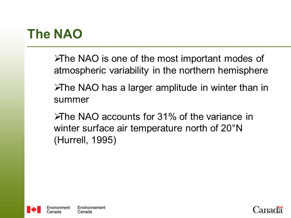 NAO skill of ensemble forecast Model has a biased NAO pattern The forced SVD2 pattern has a time evolution that matches well the observed NAO index can be used as a skillful forecast of the NAO index