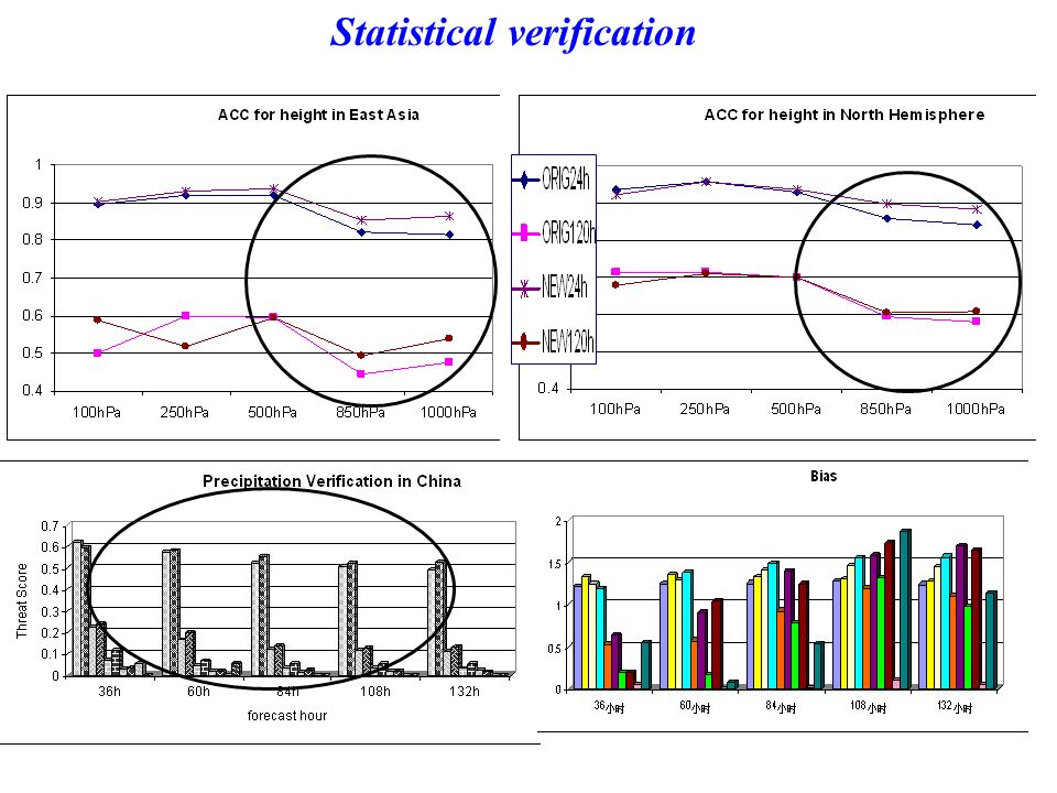 Statistical verification