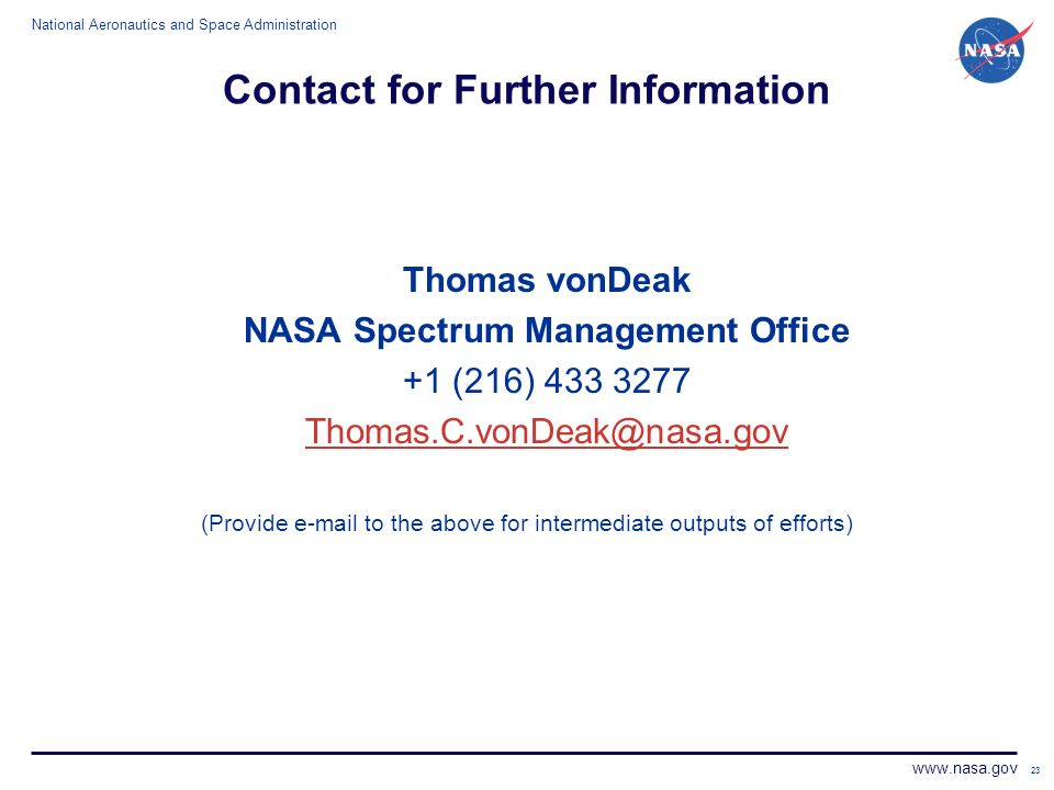 a review of the role of the national aeronautics and space administration nasa National aeronautics and space administration: nasa, independent us governmental agency established in 1958 for the research and development of vehicles and activities for space exploration.