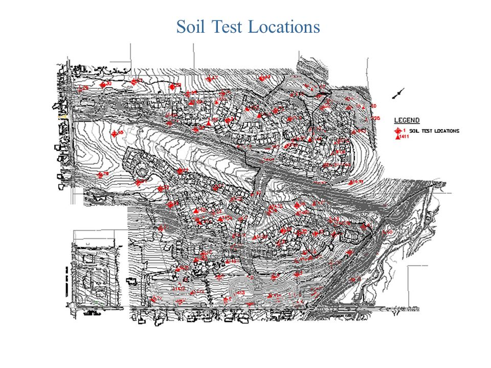 Soil Test Locations