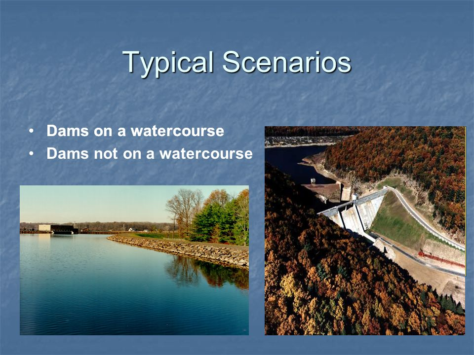 Worksheet for Permitting of Marcellus Shale Pits and Dams 2.On-stream intake dams.