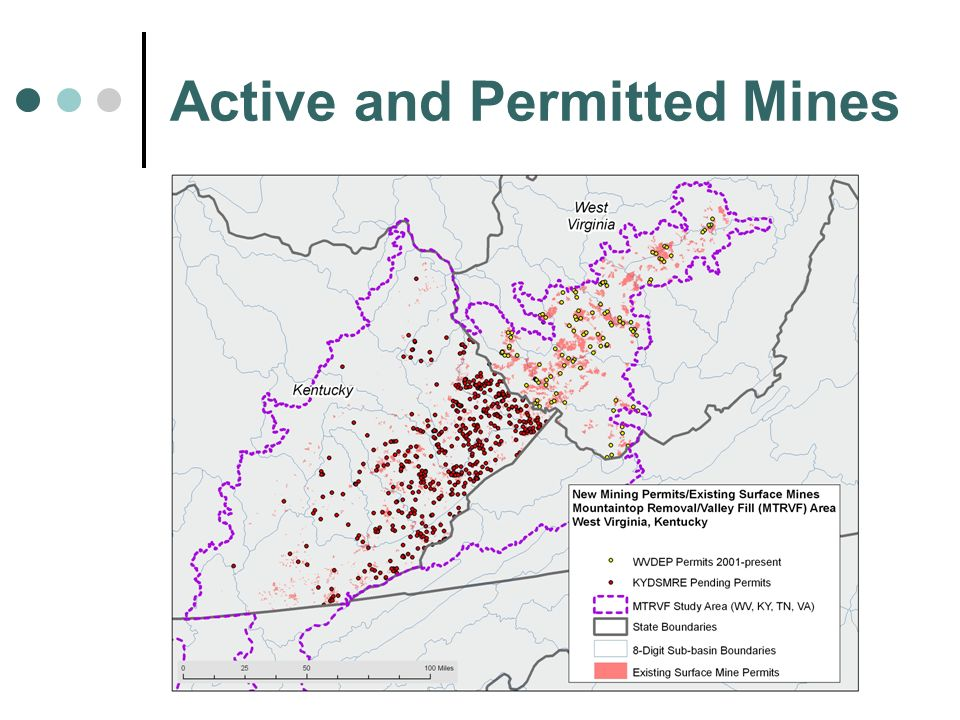 Active and Permitted Mines