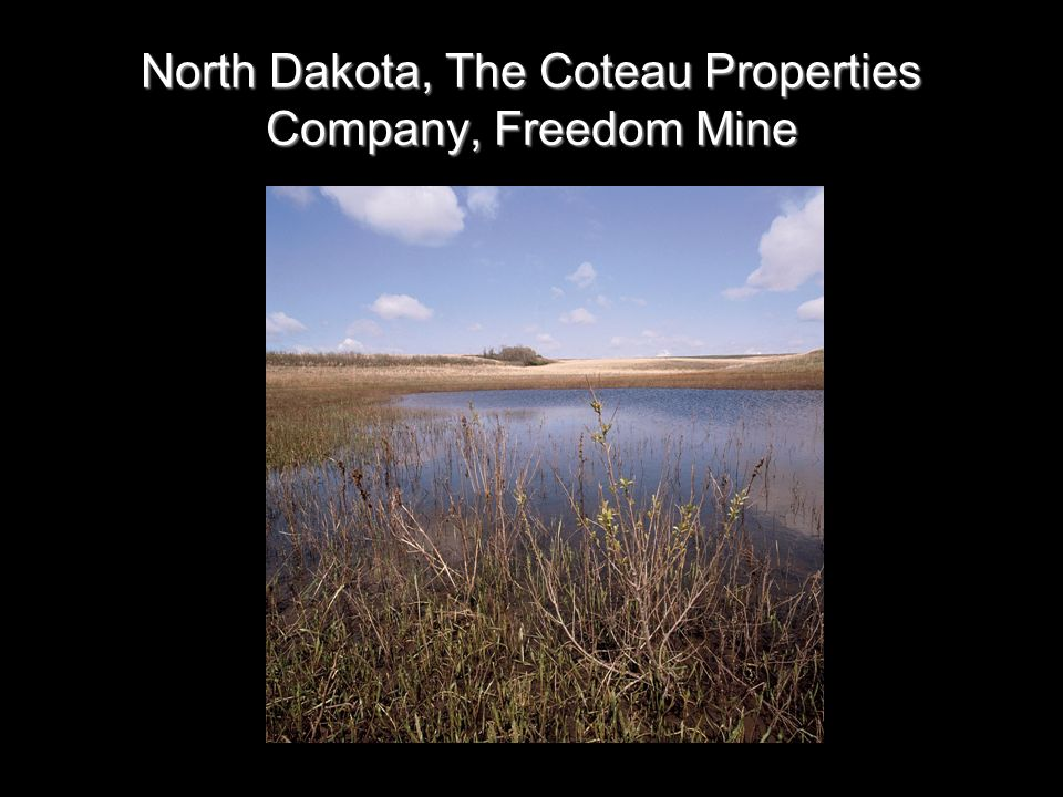 North Dakota, The Coteau Properties Company, Freedom Mine