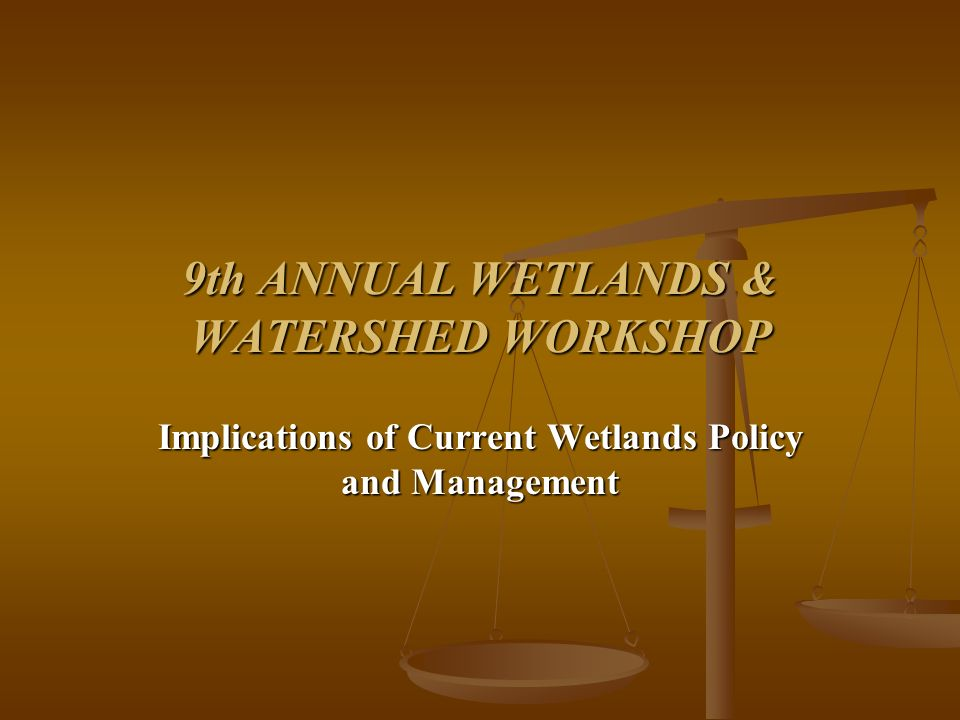 Issues Raised by Court: Extent of jurisdiction - Wetlands Kennedy opinion: [T]he Corps jurisdiction over wetlands depends upon the existence of a significant nexus between the wetlands in question and navigablewaters in the traditional sense.; Where wetlands perform these filtering and runoff-control functions, filling them may increase downstream pollution, as much as a discharge of a toxic pollutants would.