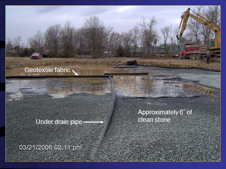 Bioretention Construction Excavation to subgrade