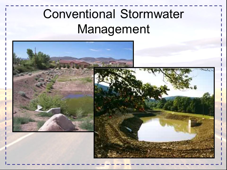 Conventional Stormwater Management