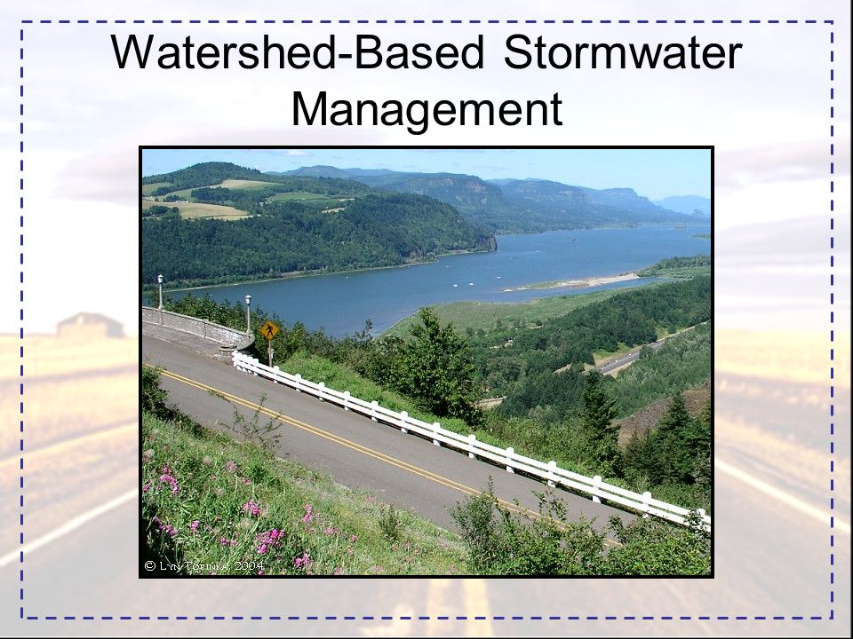 Watershed-Based Stormwater Management