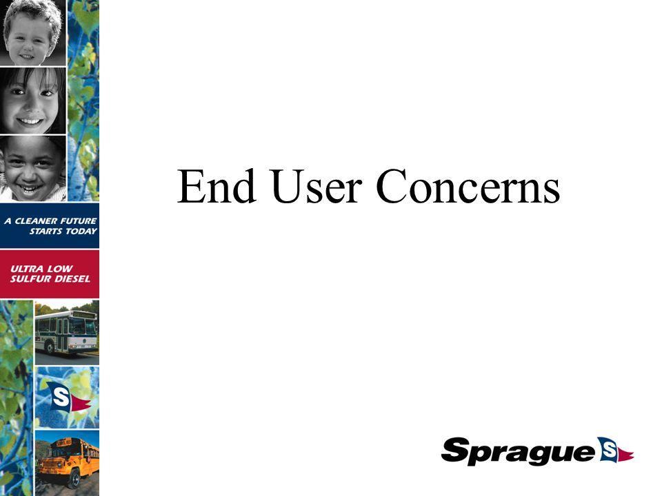 End User Concerns