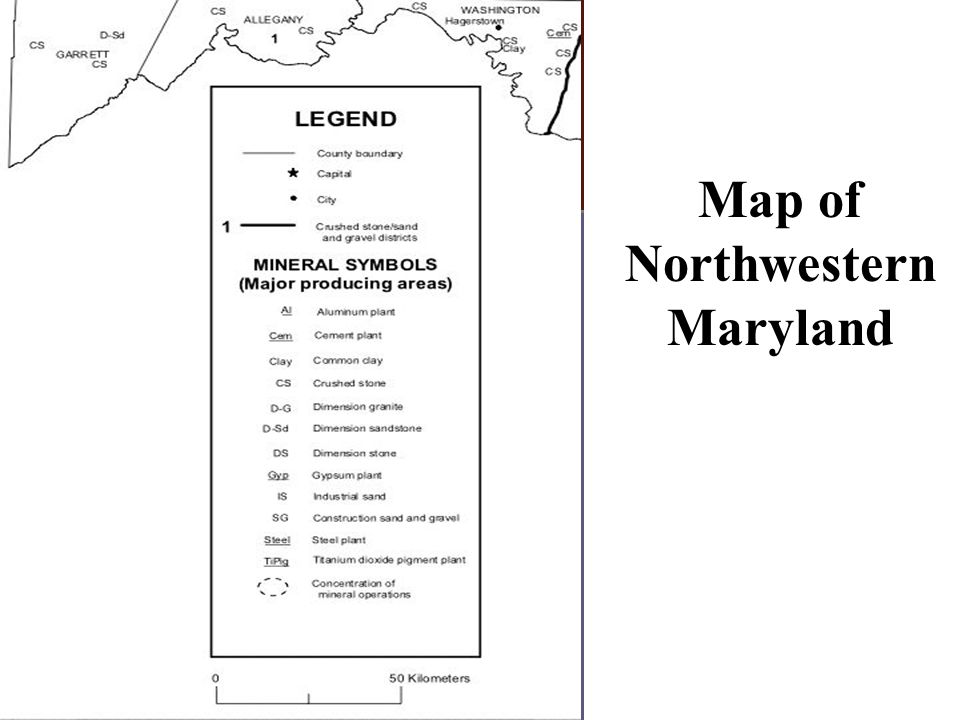 Day 2 Map of Northwestern Maryland