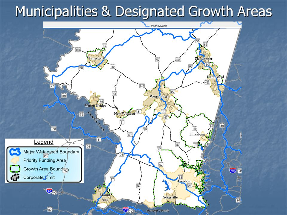 Municipalities & Designated Growth Areas
