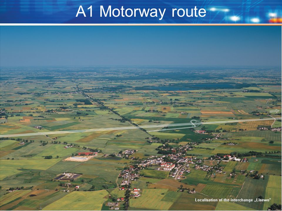 A1 Motorway route