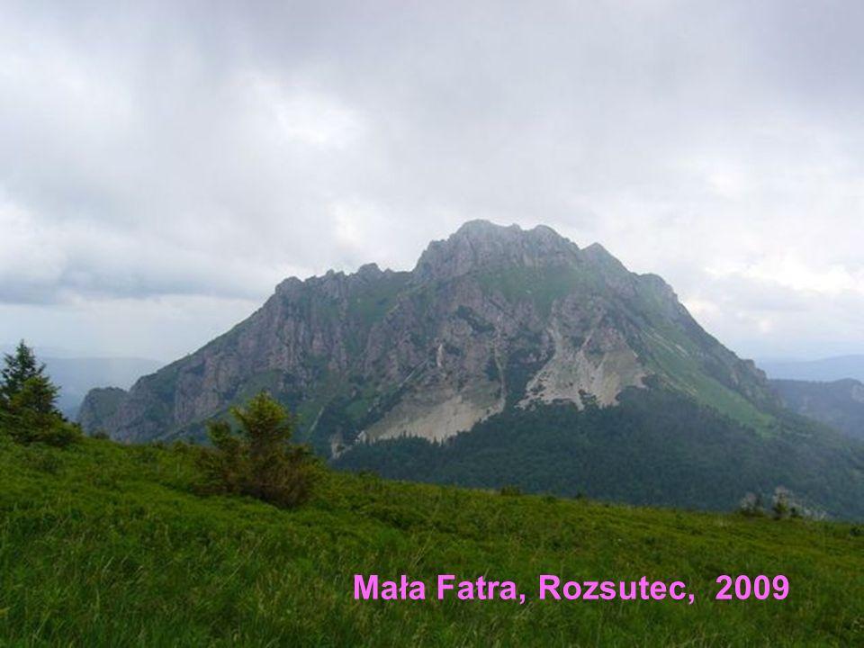 Mała Fatra, Rozsutec, 2009