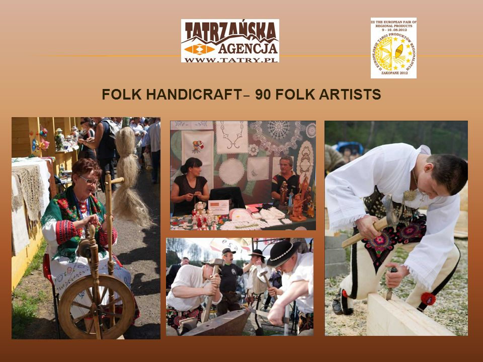 FOLK HANDICRAFT – 90 FOLK ARTISTS