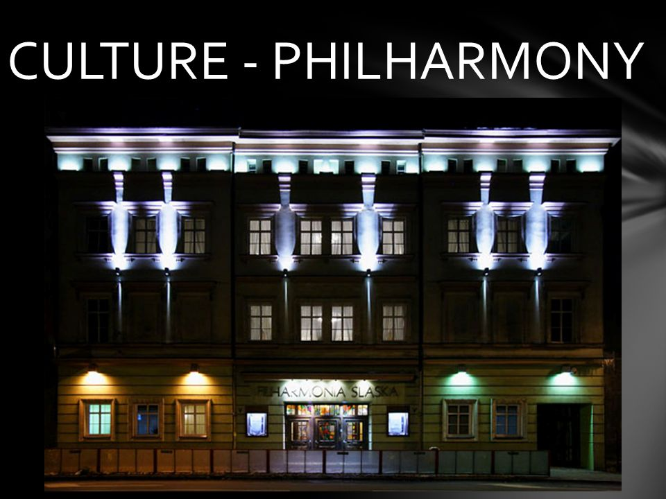 CULTURE - PHILHARMONY