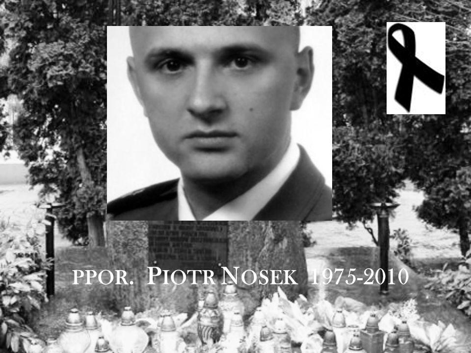 PPOR. P IOTR N OSEK 1975-2010