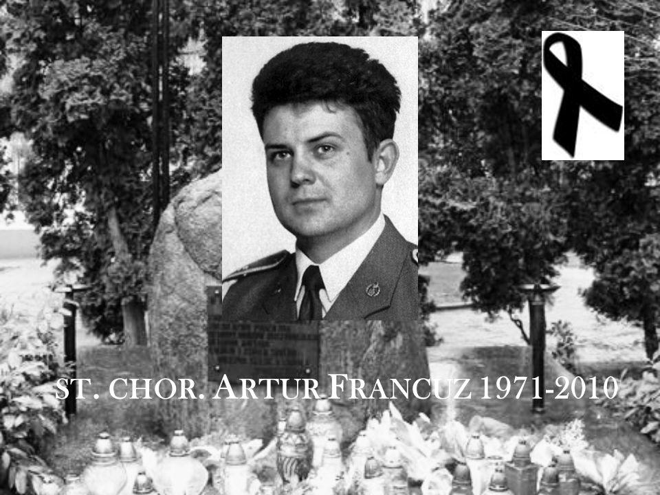 ST. CHOR. A RTUR F RANCUZ 1971-2010