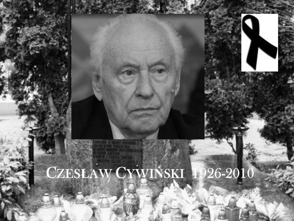 C ZES Ł AW C YWI Ń SKI 1926-2010