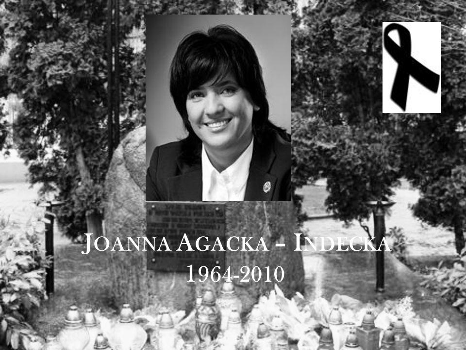 J OANNA A GACKA – I NDECKA 1 964-2010