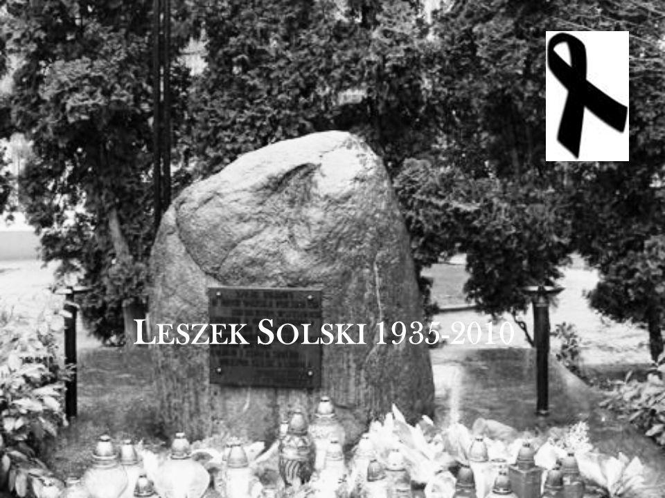 L ESZEK S OLSKI 1935-2010