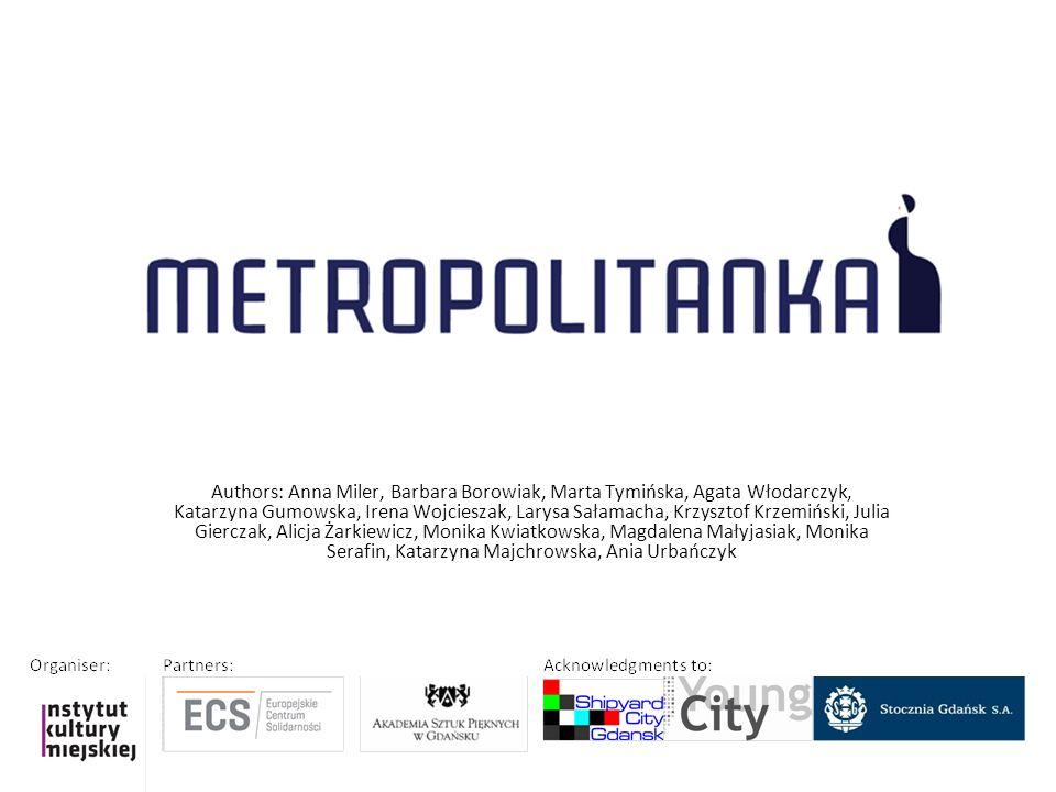 Authors: Anna Miler, Barbara Borowiak, Marta Tymińska, Agata Włodarczyk, Katarzyna Gumowska, Irena Wojcieszak, Larysa Sałamacha, Krzysztof Krzemiński,