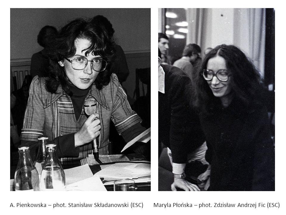 A. Pienkowska – phot. Stanisław Składanowski (ESC)Maryla Płońska – phot. Zdzisław Andrzej Fic (ESC)