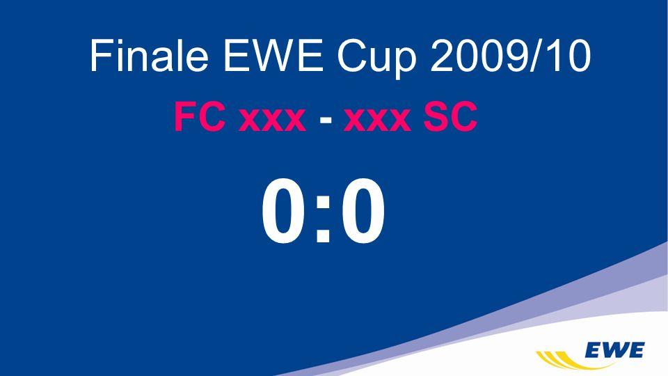 FC xxx - xxx SC Finale EWE Cup 2009/10 0:0
