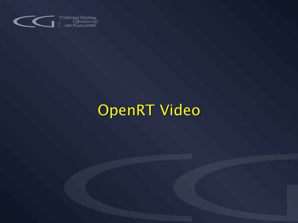 OpenRT Video