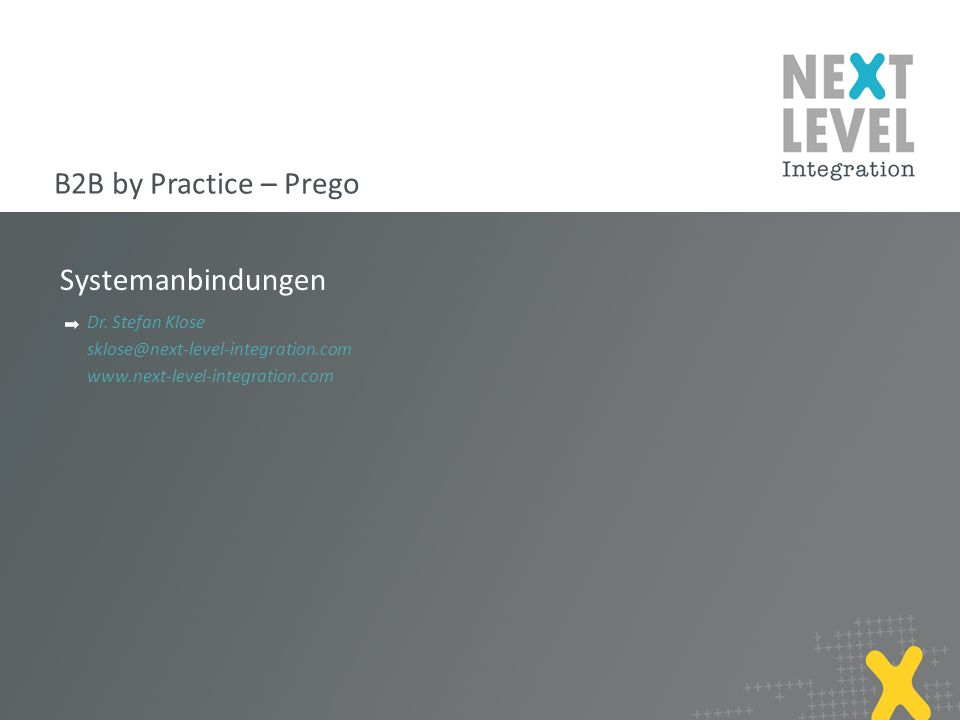 12 Regel in Generic Map next-level-integration.com | next level portals – next level search – next level ccm – b2b by practice