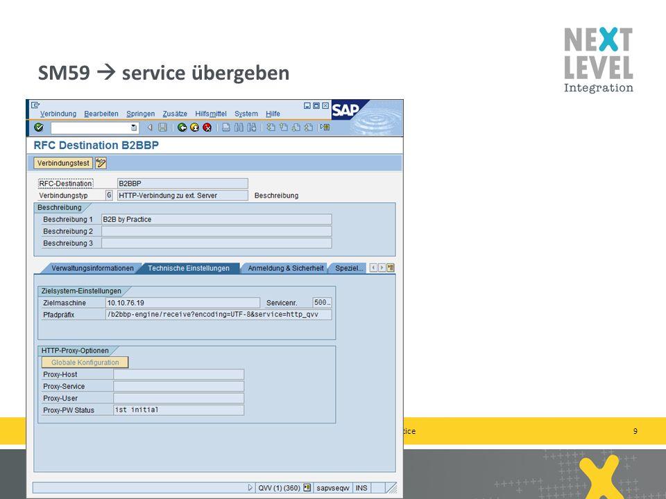 9 SM59 service übergeben next-level-integration.com | next level portals – next level search – next level ccm – b2b by practice