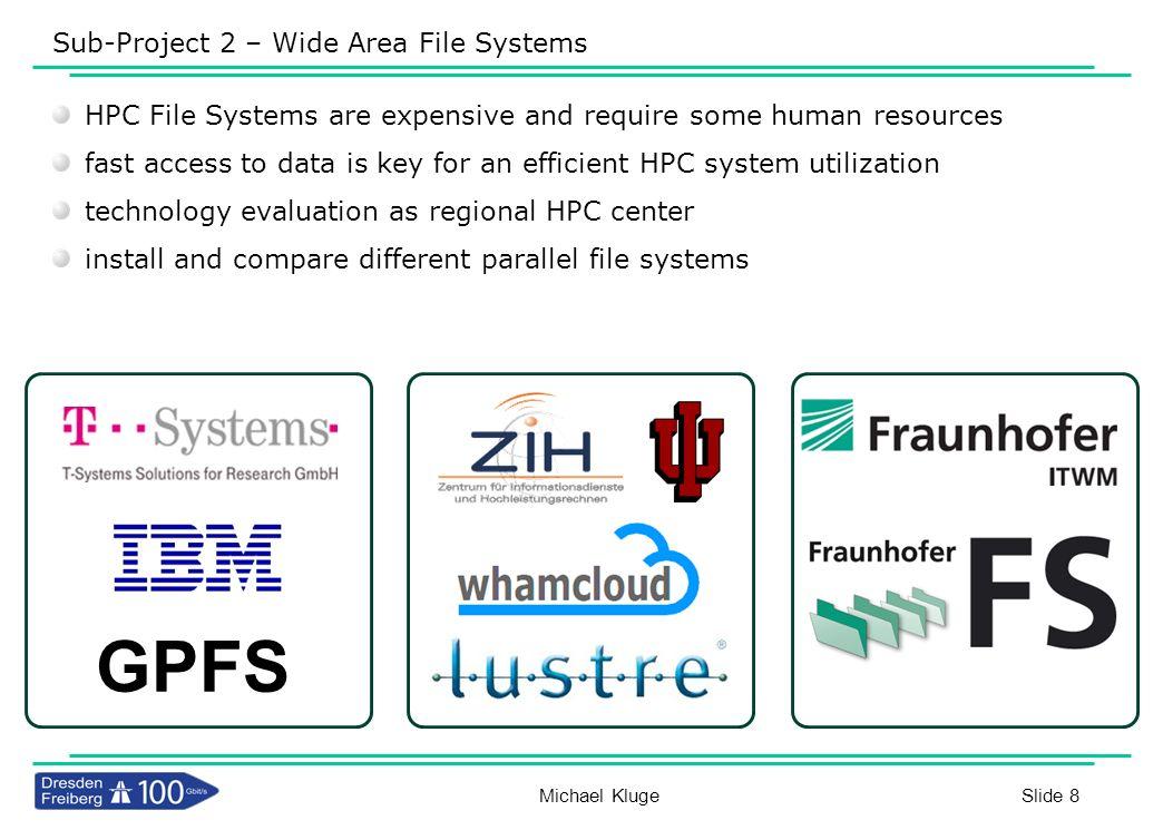 Slide 29 IOZONE Resultate für 16K-Dateien und verschiedene Blockgrößen 1 Client in Dresden vs.