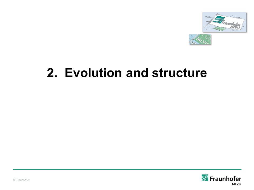 © Fraunhofer 2. Evolution and structure