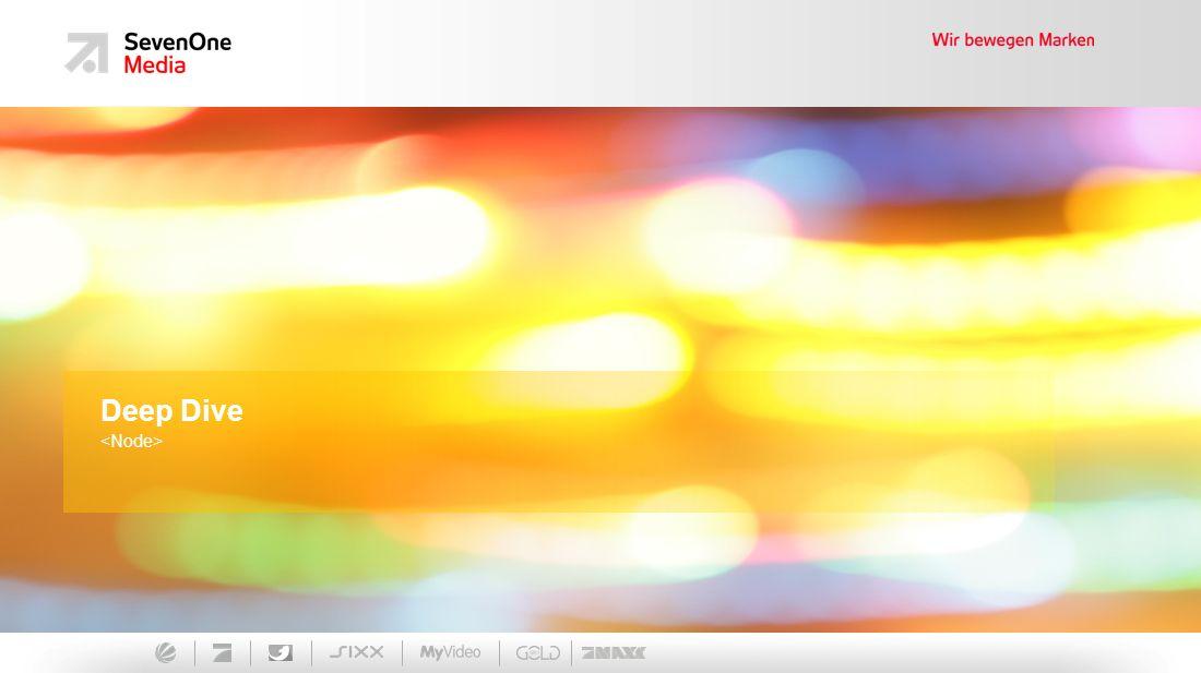 Ein Unternehmen der ProSiebenSat.1 Media AG Deep Dive