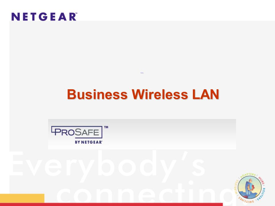 Wireless LAN Products IEEE 802.11b Standard
