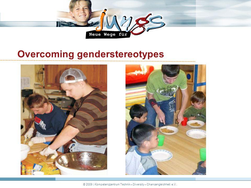 © 2009   Kompetenzzentrum Technik – Diversity – Chancengleichheit e.V. Overcoming genderstereotypes