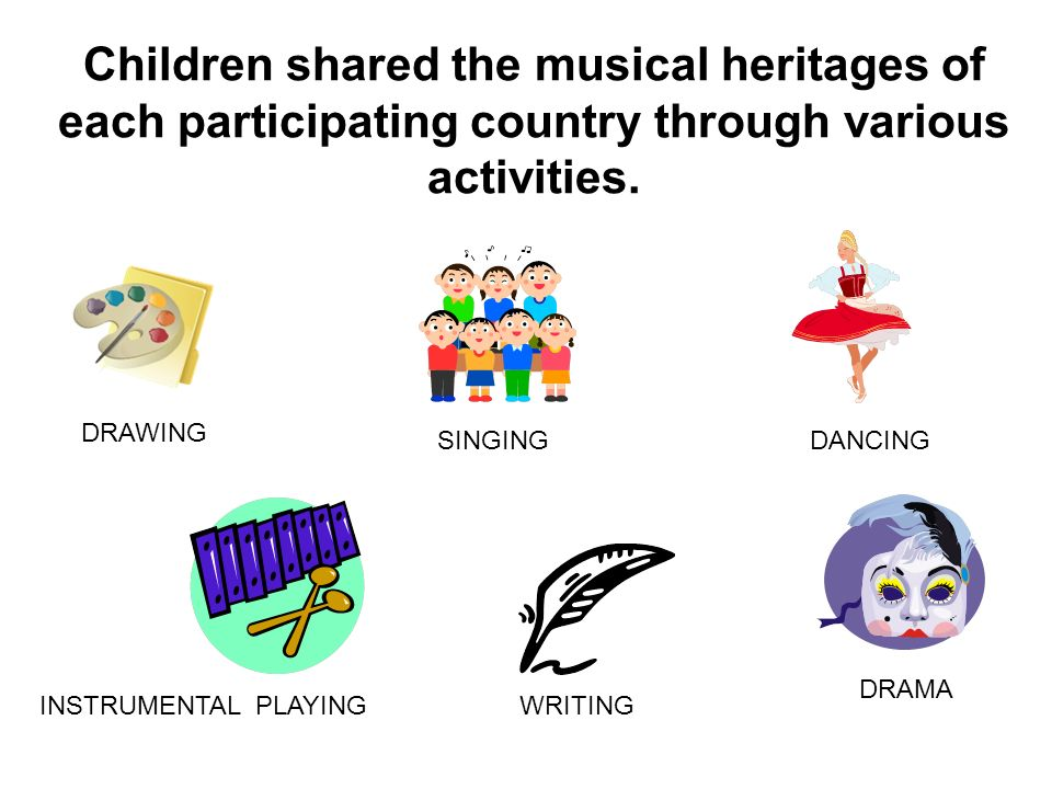 Notes of Harmony Exploring and sharing our cultural identities by interpreting our musical heritages This project was financed with the subvention of the European Commission.