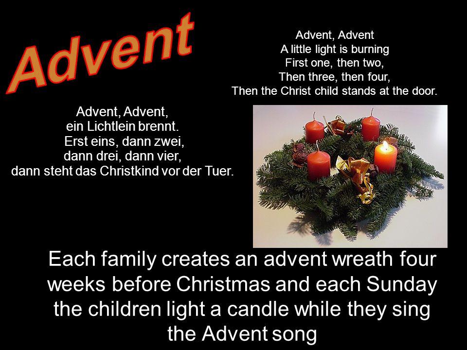Advent, ein Lichtlein brennt.