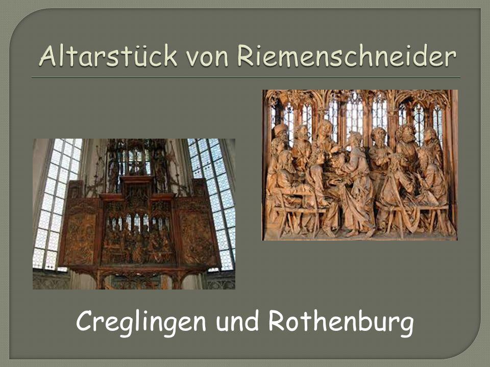 Creglingen und Rothenburg