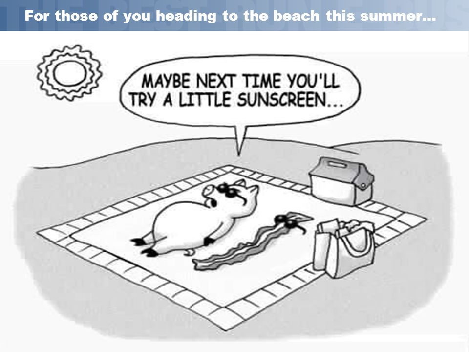 SAP AG 2002, Title of Presentation, Speaker Name 33 For those of you heading to the beach this summer…