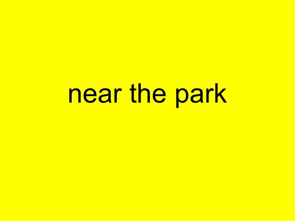 near the park