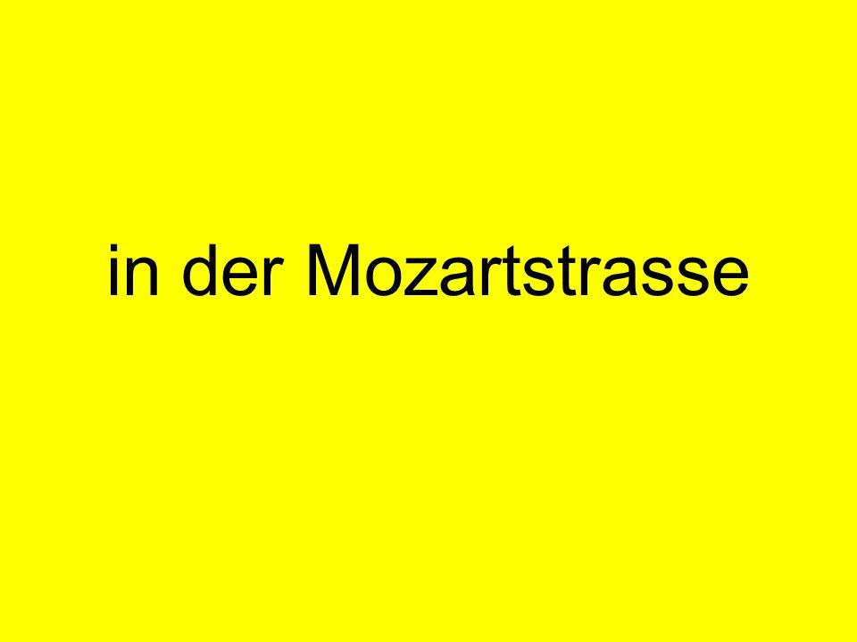 in der Mozartstrasse