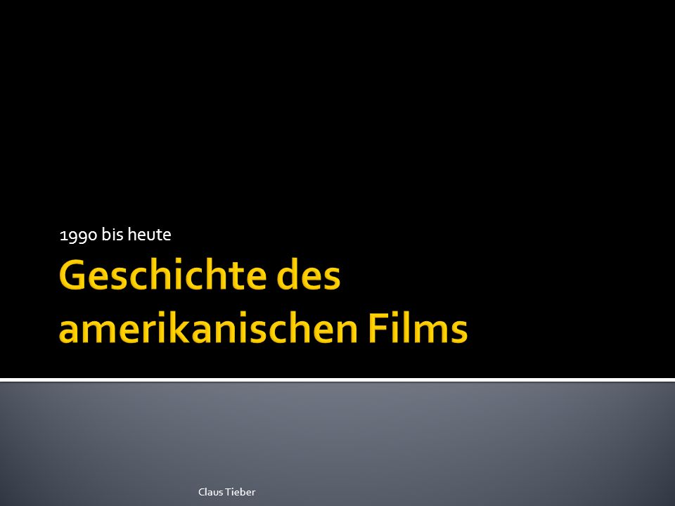 2009: 16.000 screens worldwide 3D tauglich Avatar 2011: 3 Sommer Hits: Transformers, Pirates, Harry Potter 3D 2013: 7 von 10 top ten BO Claus Tieber