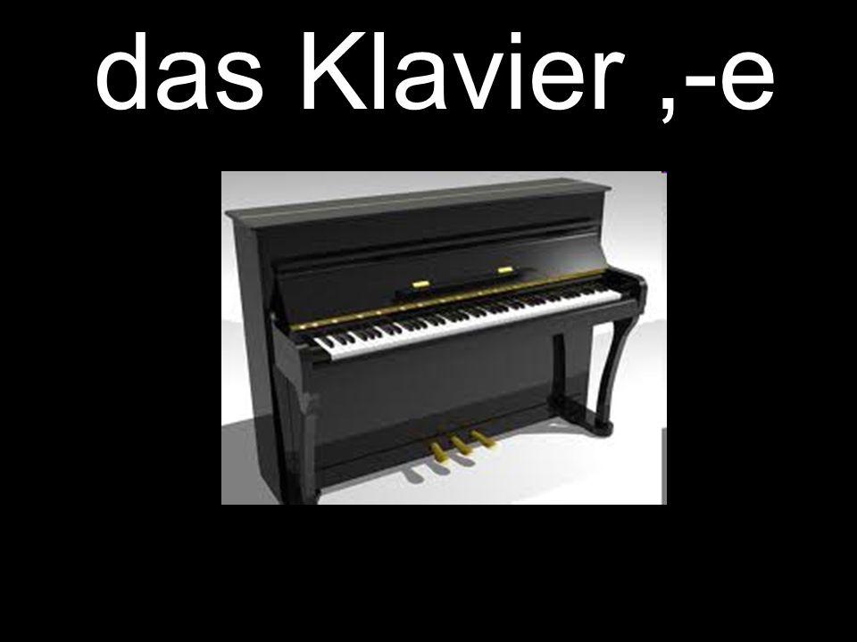 das Klavier,-e
