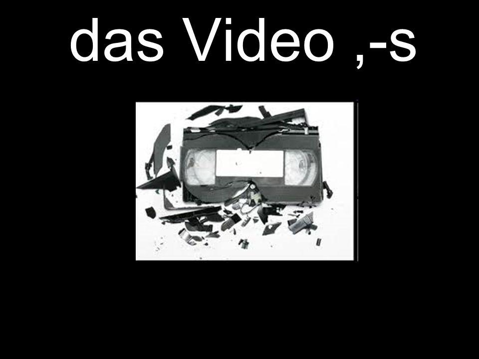 das Video,-s