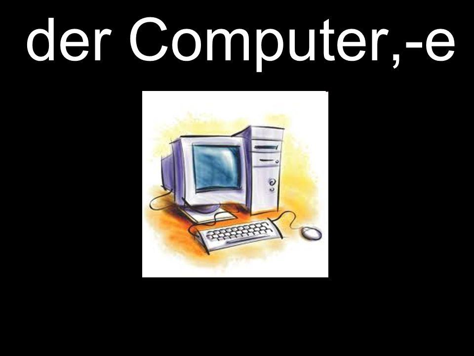 der Computer,-e