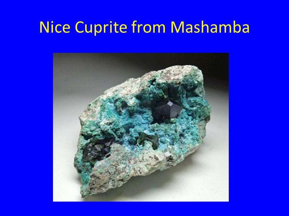 Nice Cuprite from Mashamba